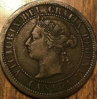 1887 Canada Large 1 Cent Penny