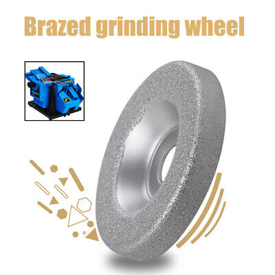 "50mm Brazed Grinding Wheel Cup 2"" Glass Emery Milling Cutter Circle Grinder 10mm"