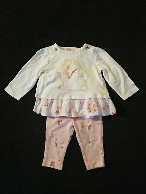 Girls Ted Baker Tops And Leggings Bundle 3-6 Months