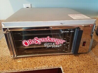 Commercial Convection Otis Spunkmeyer OS-1 Cookie Oven & 3 Trays
