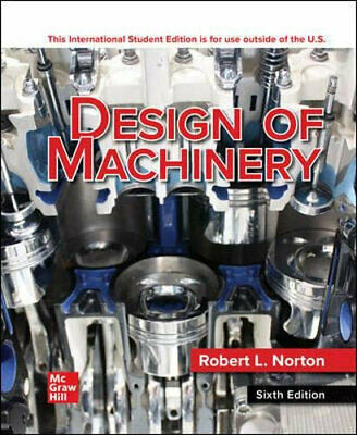 NEW Design of Machinery ISE By Robert L. Norton Paperback Free Shipping
