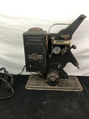 Vintage Keystone 16 mm Movie Projector Model E 848 Variable Speed, Moviegraph?