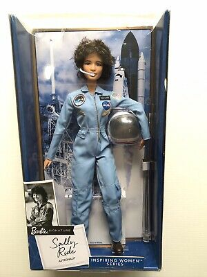 MATTEL Barbie: Inspiring Women: American Astronaut Sally Ride Collector Doll NEW