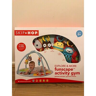 Skip Hop Explore & More Activity Gym Baby Play Mat Funscape