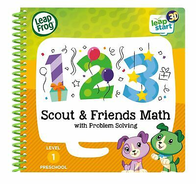 Leapstart Nursery Scout & Friends Maths Activity Book 3D Enhanced