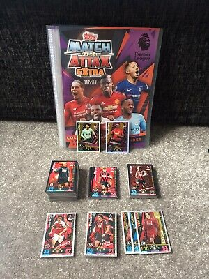 Match Attax Extra 18/19: Binder + Complete Base Set + Foils + 2 Limited Editions