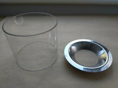 VAPALUX BIALADDIN  STAINLESS SUPPORT RING FOR STRAIGHT SIDED GLASS ON M320 LAMP