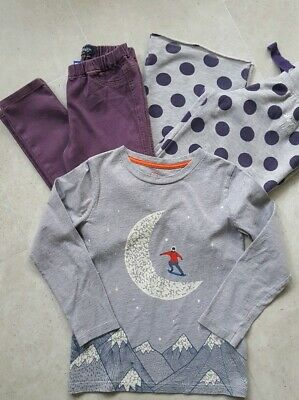 Girls Mini Boden Trousers Jeggings And Long Sleeved Top Bundle Age 11
