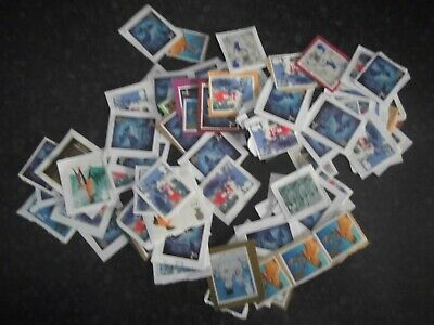 100 x 2nd Class Unfranked GB stamps Various Issues Face Value £61.00