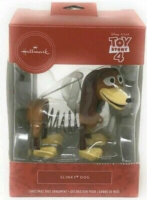 Hallmark Christmas Tree Ornament Toy Story 4 Slinky Dog 2019 Red Box New