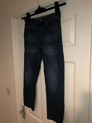 Boys Next Jeans Size 10 Years Blue Excellent Condition