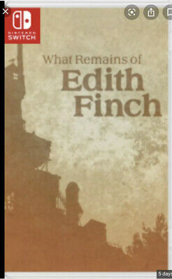 What Remains Of Edith Finch Nintendo Switch Game - Digital Code Key US