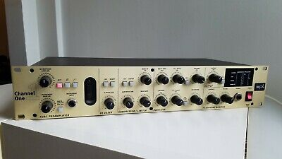 SPL Channel One 9945 tube preamp and channel strip - excellent condition