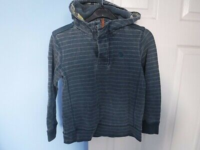 Fat Face Girls Blue Hoody Ages 8-9 Years