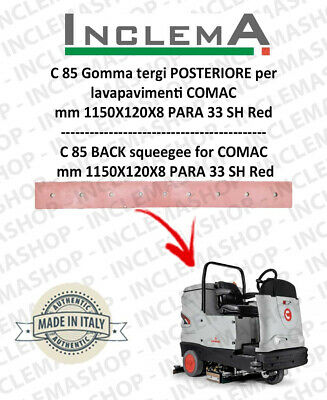 C 85 Back Squeegee Rubber for Scrubber Dryer COMAC