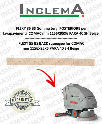 FLEXY 85 BS Back Squeegee Rubber for Scrubber Dryer COMAC