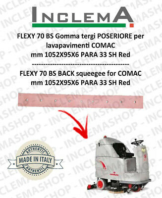 FLEXY 70 BS Back Squeegee Rubber for Scrubber Dryer COMAC