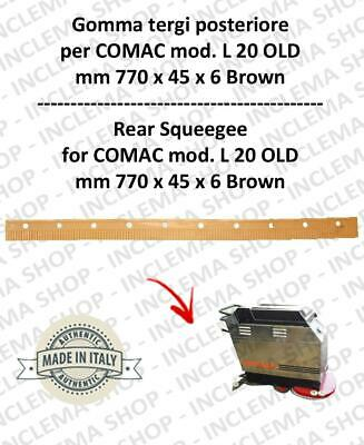 L 20 OLD Squeegee rubber back for scrubber dryers COMAC