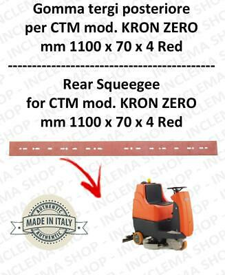 KRON ZERO Squeegee rubber Scrubber dryer back for CTM