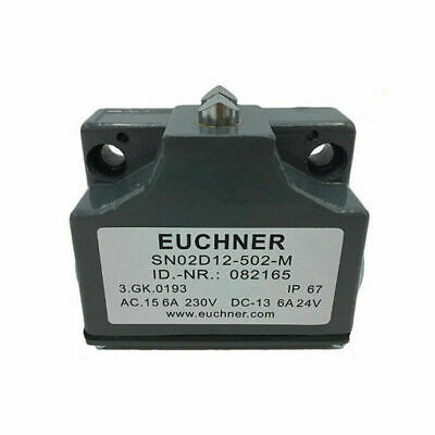 Euchner Machine Precision Limit Switch SN02D12-502-M SN02R12 Two Contact Part