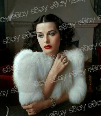 "Hedy Lamarr - 8x10 photo taken from an ""Original Negative transparency Vintage"""