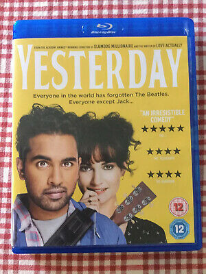 Yesterday - Blu ray - Like New - Viewed Once
