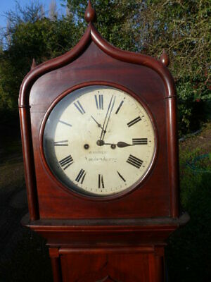 Andrews of Londonderry 8 day oak longcase clock Northern Ireland