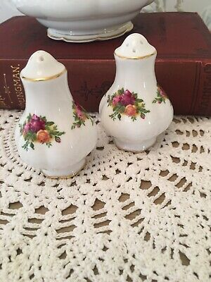 Royal Albert Old Country Roses Salt & Pepper Pots