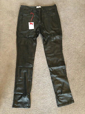 Denny Rose Leather Look Trousers Pants Really Soft Age 14 Years