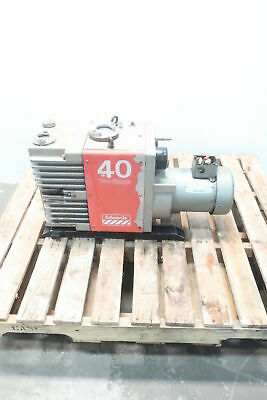 Edwards E2M40 FF Two Stage Vacuum Pump 2hp 208-230/460v-ac