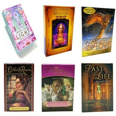 Various English Magic Oracle Cards Earth Magic Read Fate Tarot Game Deck Cards