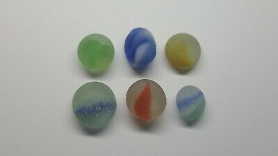 sea glass part marbles,jewelery quality,silver smith supply,beach finds