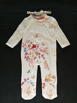 Girls Ted Baker Sleepsuit/Baby Grow 12-18 Months
