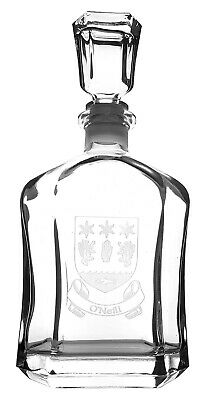 O'Neil Coat of Arms Decanter
