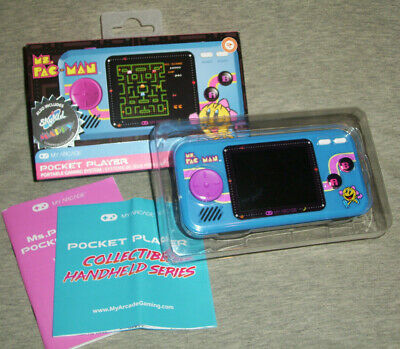 My Arcade Pocket Player Ms. Pac-Man Sky Kid Mappy Portable Gaming System (GREAT)