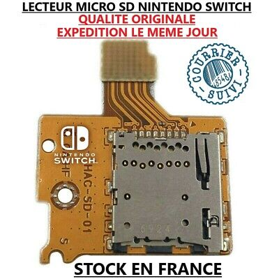 Lecteur De Carte Memoire Micro Sd Nintendo Switch