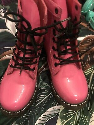Dr Marten Style Pink Boots Size 1