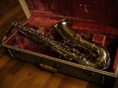 Professionelle Vintage Goldene Alto Saxophon ,,King'' ~ Made in USA