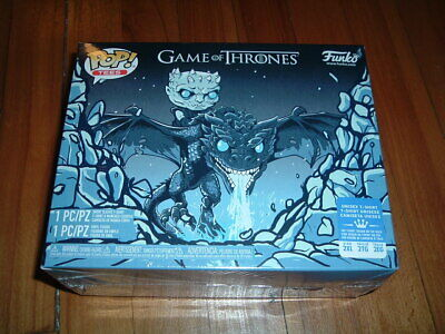 Funko Pop! Game Of Thrones Icy Viserion Box~ Sealed~ Box Lunch Exclusve~ 2Xl T~