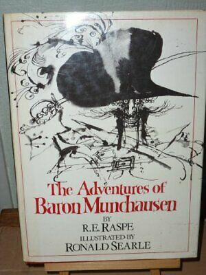 The Adventures of Baron Munchausen by R E Raspe Paperback Book The Cheap Fast