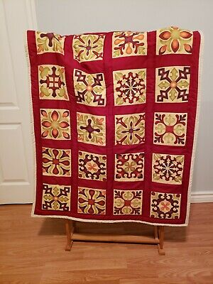 New Handmade Baby Crib or Toddler Quilt