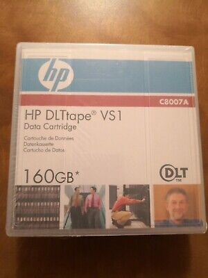 NEW HP C8007A DLT VS160 VS1 160GB Data Tape Cartridge C8007-60000