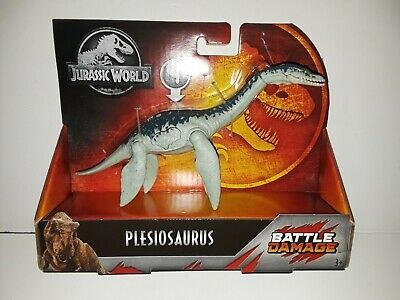 NEW Jurassic World Battle Damage Plesiosaurus Plesiosaur Mattel 2019