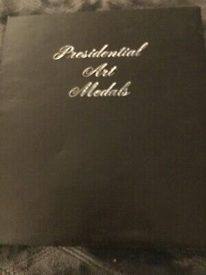 Presidental Medalic Art Medals 38 Medals Washington To Kennedy Book Best Offers