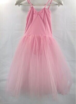DANCING DAISY PINK ROMANTIC LENGTH tutu DRESS size XL AGE 12