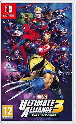 Marvel: Ultimate Alliance 3: The Black Order -- Standard Edition Nintendo switch