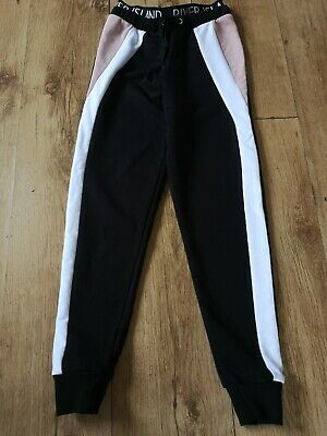 Girls River Island Jogging Bottoms Trousers Age 9-10 Years