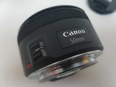 Canon EF 50mm F1.8 STM Lens (Black)