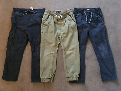 Boys Casual Trousers Bundle Age 3-4 NEXT and TU