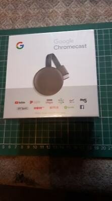 Google Chromecast 3rd Generation Media Streamer FACTORY SEALED